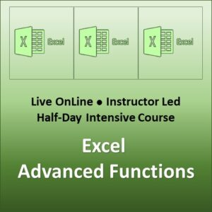 Excel Advanced Functions and Formulas